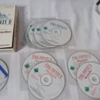 Kindheitserinnerungen: FFXI mit 2 Addons auf insgesamt 11 CD's :D